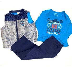Healthtex 3 Piece Outfit